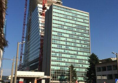 Neubau Bürogebäude, Roche Bau 1, Grenzacherstrasse, 4070 Basel